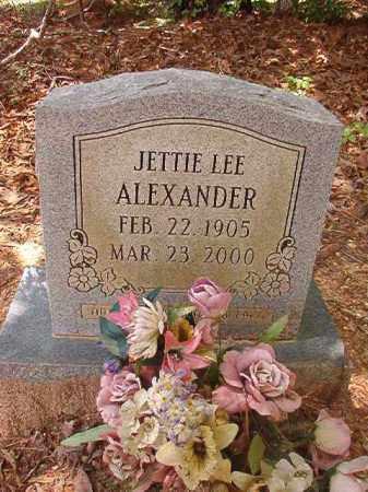 ALEXANDER, JETTIE LEE - Columbia County, Arkansas | JETTIE LEE ALEXANDER - Arkansas Gravestone Photos