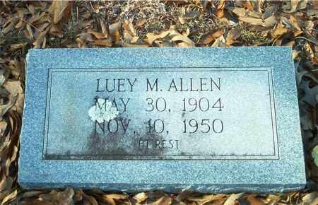 ALLEN, LUEY M - Columbia County, Arkansas | LUEY M ALLEN - Arkansas Gravestone Photos