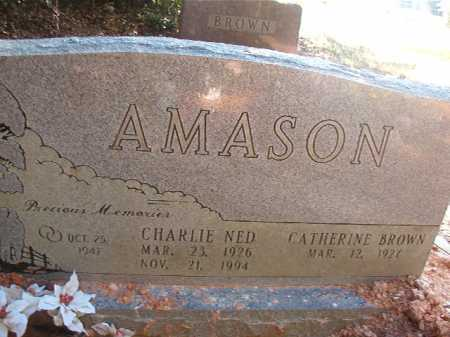 AMASON, CHARLIE NED - Columbia County, Arkansas   CHARLIE NED AMASON - Arkansas Gravestone Photos