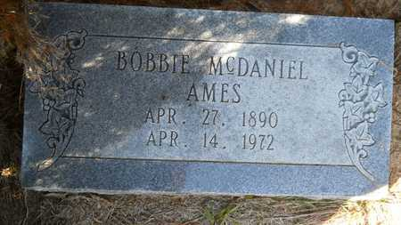 MCDANIEL AMES, BOBBIE - Columbia County, Arkansas | BOBBIE MCDANIEL AMES - Arkansas Gravestone Photos