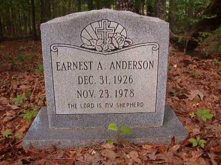 ANDERSON, EARNEST A - Columbia County, Arkansas | EARNEST A ANDERSON - Arkansas Gravestone Photos