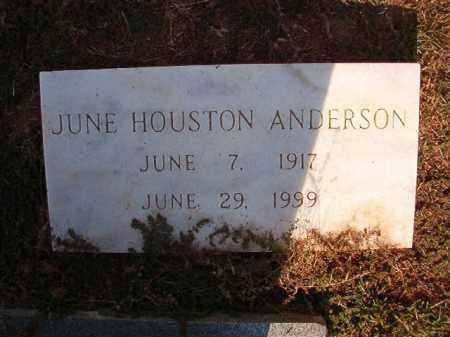 ANDERSON, JUNE - Columbia County, Arkansas | JUNE ANDERSON - Arkansas Gravestone Photos