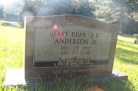 "ANDERSON, JR, JERRY DEAN ""JD"" - Columbia County, Arkansas 