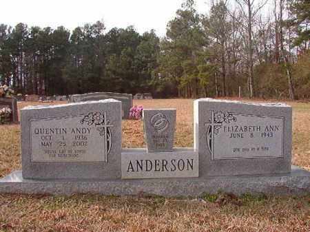 """ANDERSON, QUENTIN """"ANDY"""" - Columbia County, Arkansas 