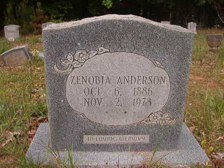 ANDERSON, ZENOBIA - Columbia County, Arkansas | ZENOBIA ANDERSON - Arkansas Gravestone Photos