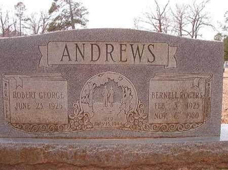 ROGERS ANDREWS, BURNELL - Columbia County, Arkansas   BURNELL ROGERS ANDREWS - Arkansas Gravestone Photos