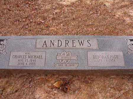 ANDREWS, CHARLES MICHAEL - Columbia County, Arkansas   CHARLES MICHAEL ANDREWS - Arkansas Gravestone Photos