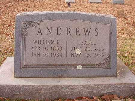 ANDREWS, ISABEL - Columbia County, Arkansas   ISABEL ANDREWS - Arkansas Gravestone Photos
