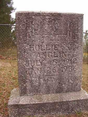 ANGLIN, HOLLIE J - Columbia County, Arkansas | HOLLIE J ANGLIN - Arkansas Gravestone Photos