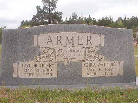 ARMER, TAYLOR HENRY - Columbia County, Arkansas | TAYLOR HENRY ARMER - Arkansas Gravestone Photos