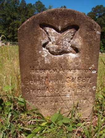 ARMSTRONG, HEBREW - Columbia County, Arkansas | HEBREW ARMSTRONG - Arkansas Gravestone Photos