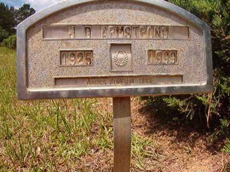 ARMSTRONG, J D - Columbia County, Arkansas | J D ARMSTRONG - Arkansas Gravestone Photos