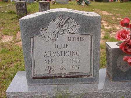 ARMSTRONG, OLLIE - Columbia County, Arkansas   OLLIE ARMSTRONG - Arkansas Gravestone Photos
