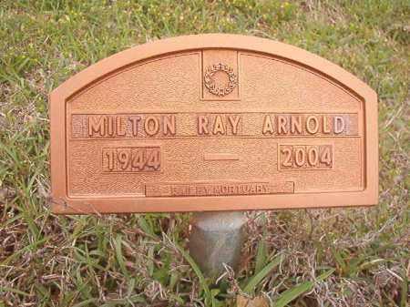 ARNOLD, MILTON RAY - Columbia County, Arkansas | MILTON RAY ARNOLD - Arkansas Gravestone Photos