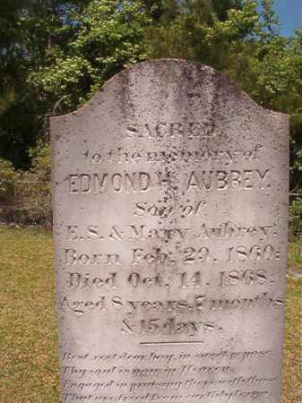 AUBREY, EDMOND H - Columbia County, Arkansas | EDMOND H AUBREY - Arkansas Gravestone Photos