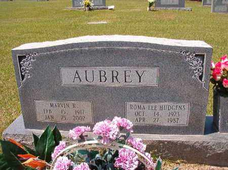 AUBREY, MARVIN R - Columbia County, Arkansas | MARVIN R AUBREY - Arkansas Gravestone Photos