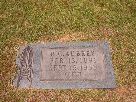 AUBREY, R G - Columbia County, Arkansas   R G AUBREY - Arkansas Gravestone Photos