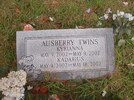 AUSBERRY, KADARIUS - Columbia County, Arkansas | KADARIUS AUSBERRY - Arkansas Gravestone Photos