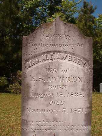 AWBREY, M E - Columbia County, Arkansas | M E AWBREY - Arkansas Gravestone Photos