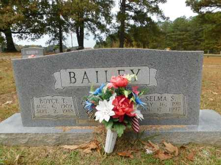 BAILEY, BOYCE T - Columbia County, Arkansas | BOYCE T BAILEY - Arkansas Gravestone Photos