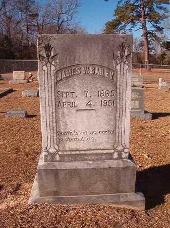 BAILEY, JAMES W - Columbia County, Arkansas | JAMES W BAILEY - Arkansas Gravestone Photos