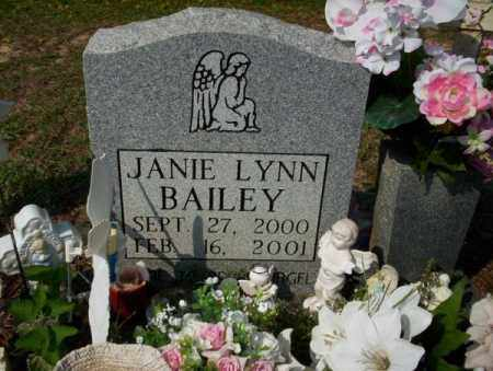BAILEY, JANIE LYNN - Columbia County, Arkansas | JANIE LYNN BAILEY - Arkansas Gravestone Photos