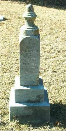 PYLE BAILEY, MARY ELIZABETH - Columbia County, Arkansas | MARY ELIZABETH PYLE BAILEY - Arkansas Gravestone Photos