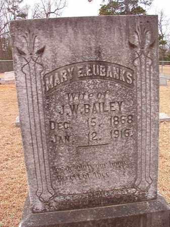 BAILEY, MARY E - Columbia County, Arkansas   MARY E BAILEY - Arkansas Gravestone Photos