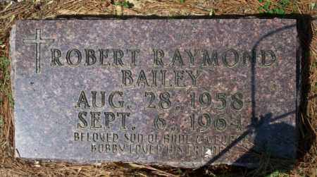 BAILEY, ROBERT RAYMOND - Columbia County, Arkansas | ROBERT RAYMOND BAILEY - Arkansas Gravestone Photos