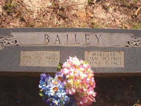 BAILEY, MARY LEE - Columbia County, Arkansas | MARY LEE BAILEY - Arkansas Gravestone Photos