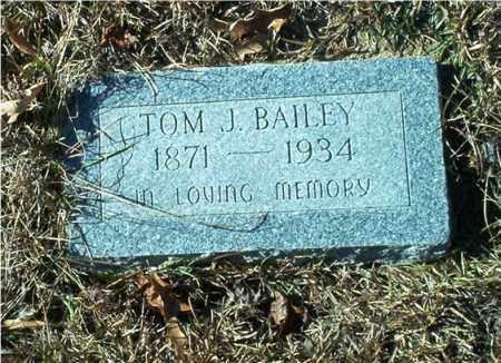 BAILEY, TOM J. - Columbia County, Arkansas   TOM J. BAILEY - Arkansas Gravestone Photos