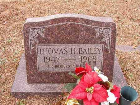 BAILEY, THOMAS H - Columbia County, Arkansas | THOMAS H BAILEY - Arkansas Gravestone Photos