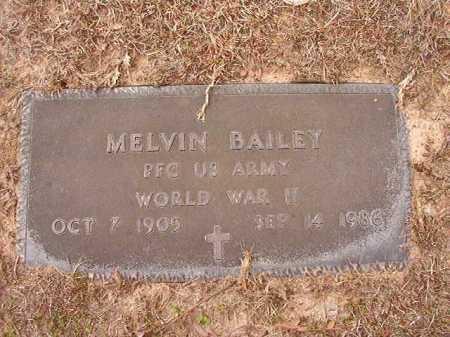 BAILEY (VETERAN WWII), MELVIN - Columbia County, Arkansas | MELVIN BAILEY (VETERAN WWII) - Arkansas Gravestone Photos