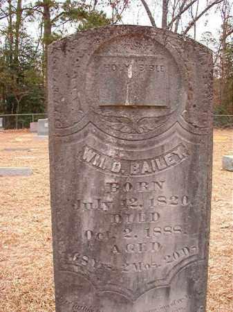 BAILEY, WILLIAM D - Columbia County, Arkansas | WILLIAM D BAILEY - Arkansas Gravestone Photos
