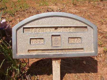 BAKER, EARNEST - Columbia County, Arkansas | EARNEST BAKER - Arkansas Gravestone Photos