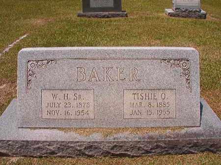 BAKER, TISHIE O - Columbia County, Arkansas   TISHIE O BAKER - Arkansas Gravestone Photos