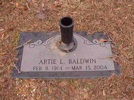 BALDWIN, ARTIE L - Columbia County, Arkansas | ARTIE L BALDWIN - Arkansas Gravestone Photos