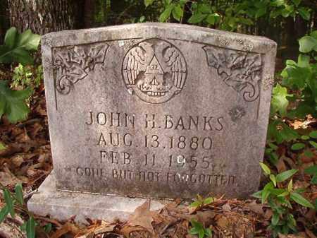 BANKS, JOHN H - Columbia County, Arkansas | JOHN H BANKS - Arkansas Gravestone Photos