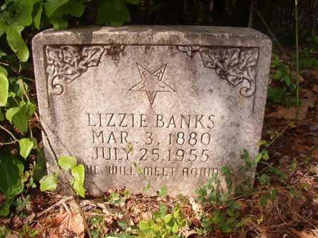 BANKS, LIZZIE - Columbia County, Arkansas | LIZZIE BANKS - Arkansas Gravestone Photos