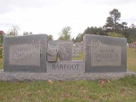 BARFOOT, DOLLYE B - Columbia County, Arkansas | DOLLYE B BARFOOT - Arkansas Gravestone Photos