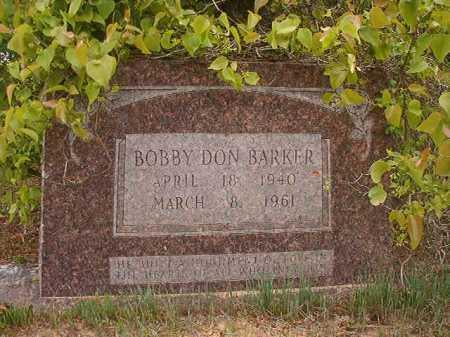 BARKER, BOBBY DON - Columbia County, Arkansas   BOBBY DON BARKER - Arkansas Gravestone Photos
