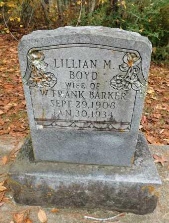 BARKER, LILLIAN M - Columbia County, Arkansas | LILLIAN M BARKER - Arkansas Gravestone Photos