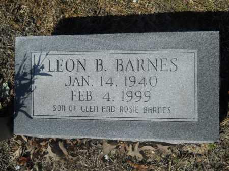 BARNES, LEON B - Columbia County, Arkansas | LEON B BARNES - Arkansas Gravestone Photos