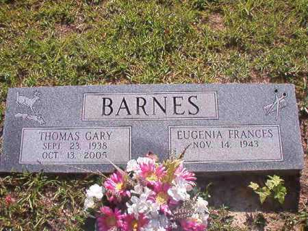 BARNES, THOMAS GARY - Columbia County, Arkansas | THOMAS GARY BARNES - Arkansas Gravestone Photos