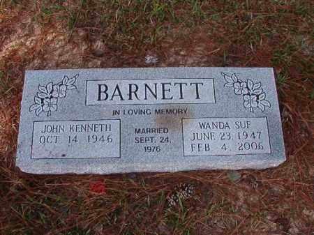 BARNETT, WANDA SUE - Columbia County, Arkansas | WANDA SUE BARNETT - Arkansas Gravestone Photos