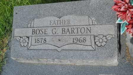 BARTON, BOSE GAINES (CLOSEUP) - Columbia County, Arkansas | BOSE GAINES (CLOSEUP) BARTON - Arkansas Gravestone Photos