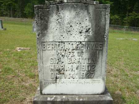 BARTON, BERTHA LEE - Columbia County, Arkansas | BERTHA LEE BARTON - Arkansas Gravestone Photos