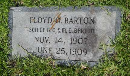 BARTON, FLOYD O - Columbia County, Arkansas | FLOYD O BARTON - Arkansas Gravestone Photos
