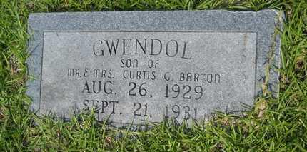 BARTON, GWENDOL - Columbia County, Arkansas | GWENDOL BARTON - Arkansas Gravestone Photos