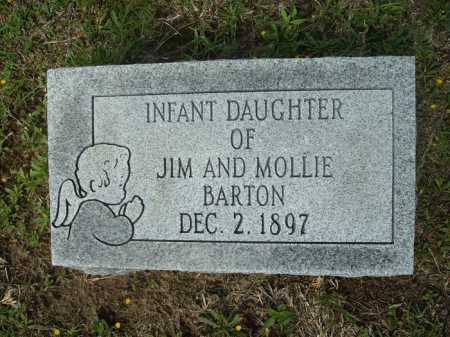BARTON, INFANT DAUGHTER - Columbia County, Arkansas   INFANT DAUGHTER BARTON - Arkansas Gravestone Photos